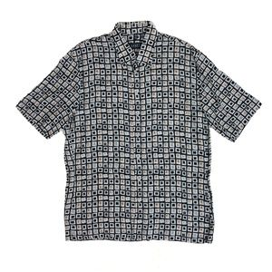 Haupt Shirts - Haupt Germany Medium Geometric Button Down Shirt